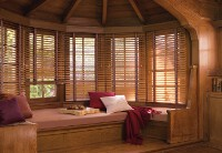 Country Woods Classics Venetian Blind with specialty tapes